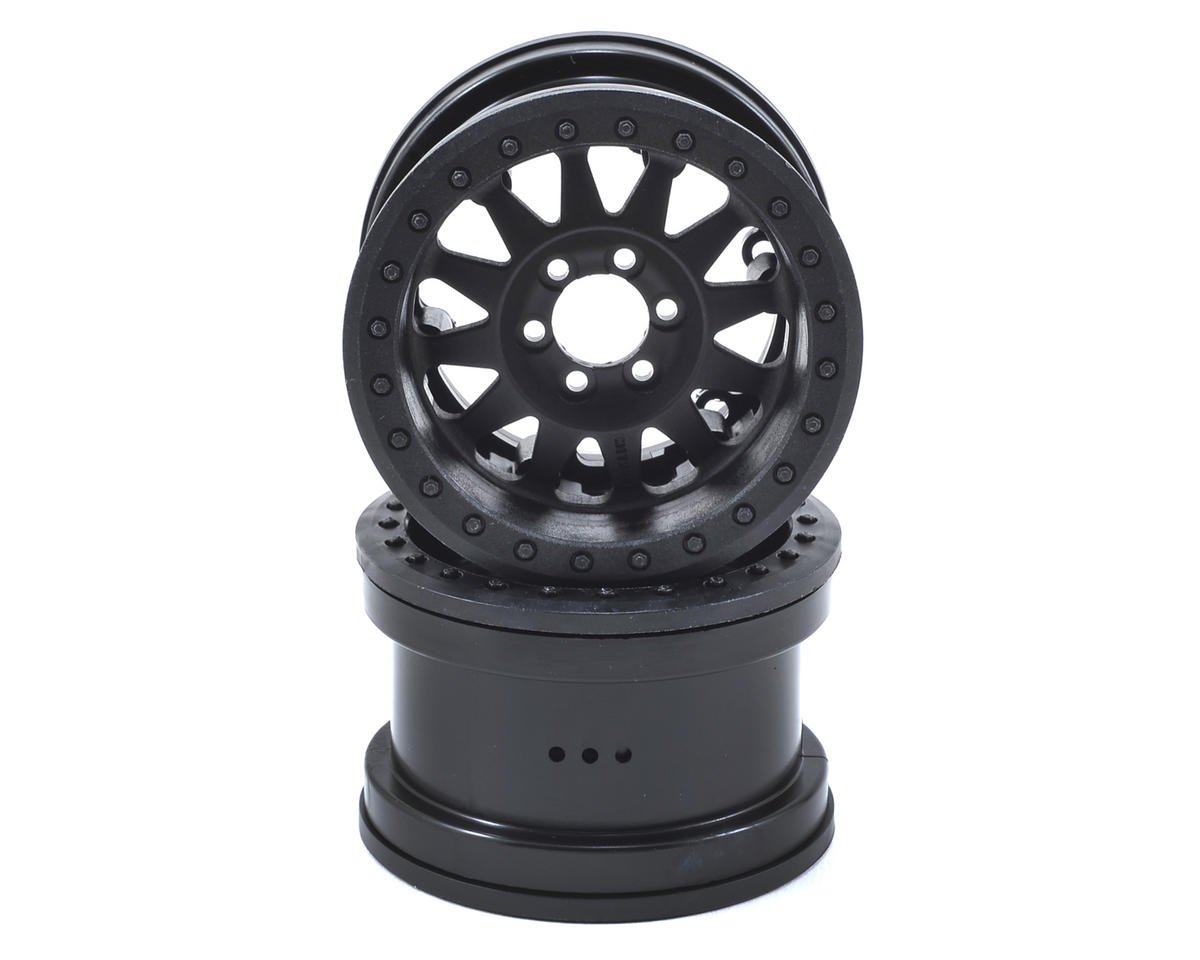 "Method IFD Beadlock 2.2"" Crawler Wheels (2) (Black) by Axial Racing"