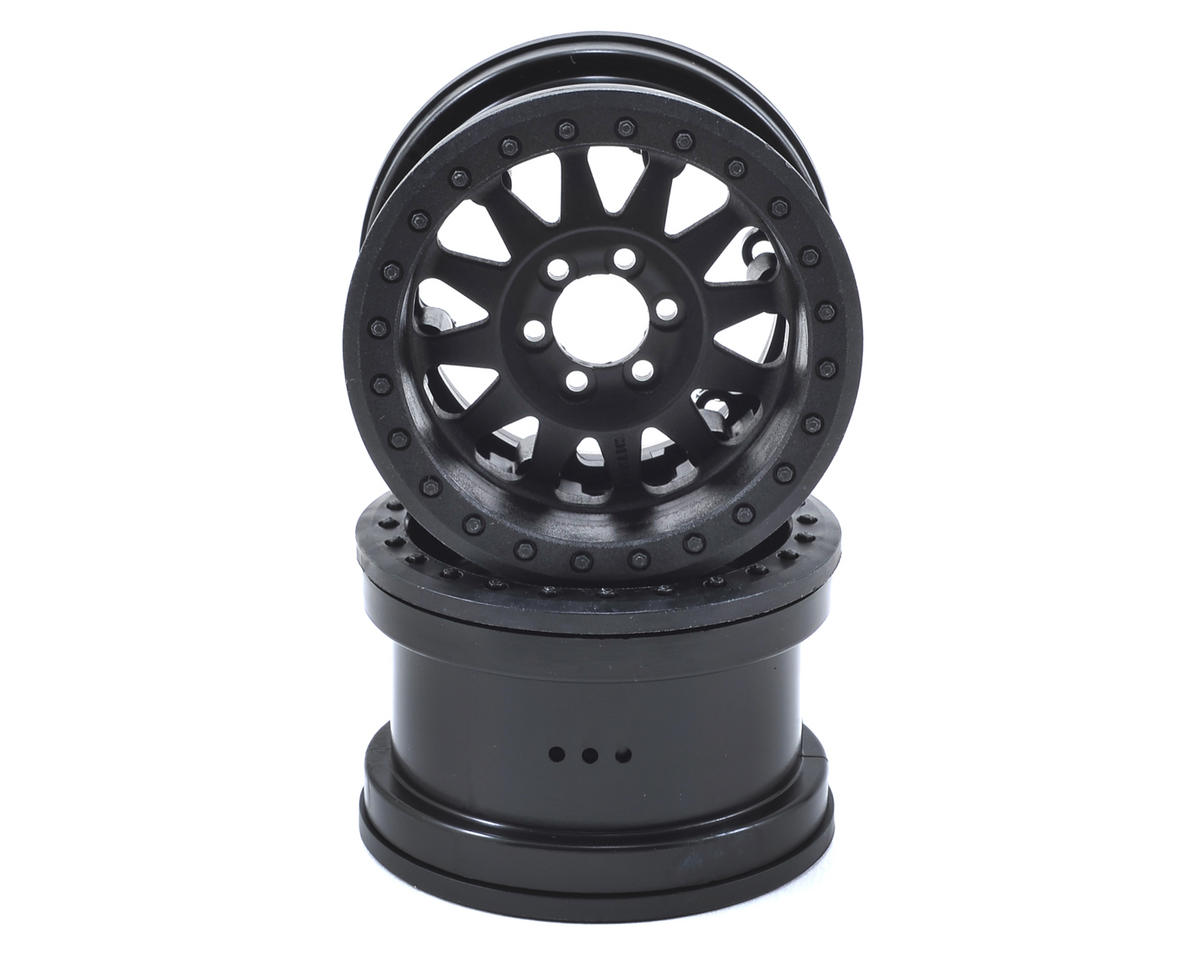 """Axial Method IFD Beadlock 2.2"""" Crawler Wheels (2) (Black)"""