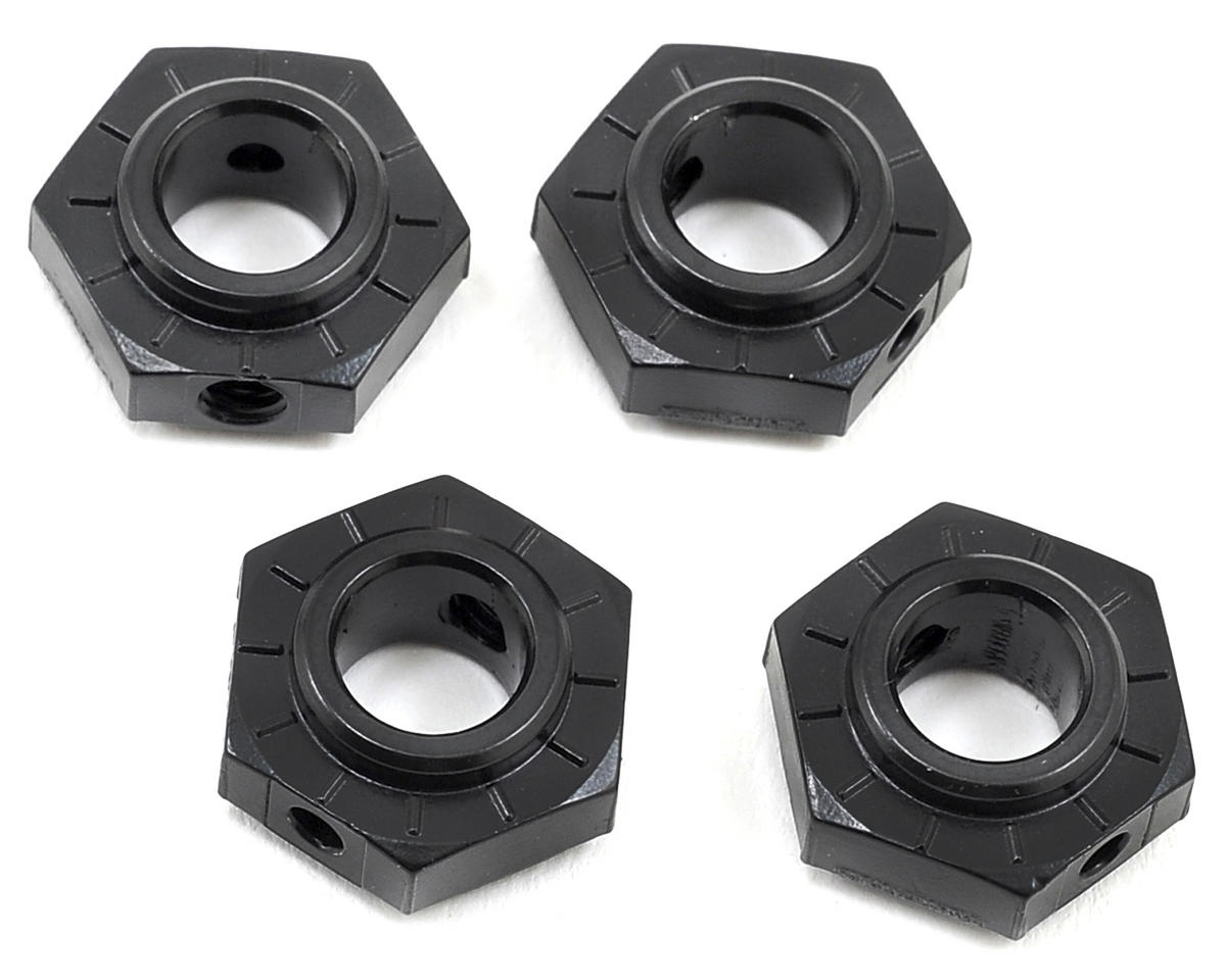 Axial Racing 17mm Aluminum Hub (Black) (4)