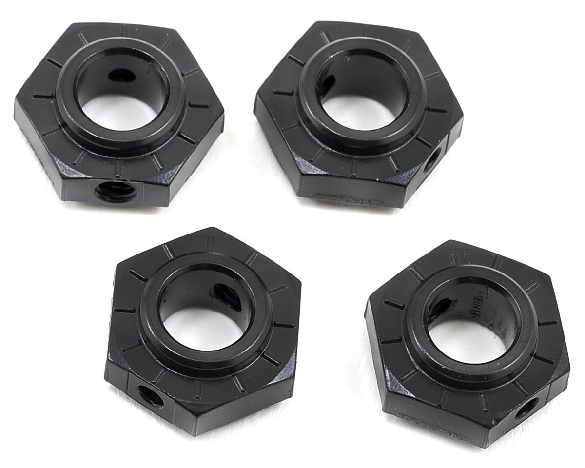 Axial Racing 17mm Aluminum Hub (Black) (4)