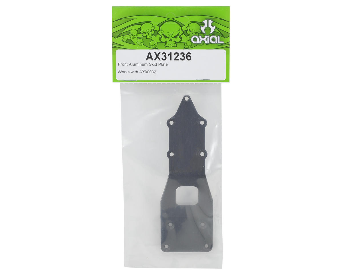 Axial Racing Aluminum Front Skid Plate