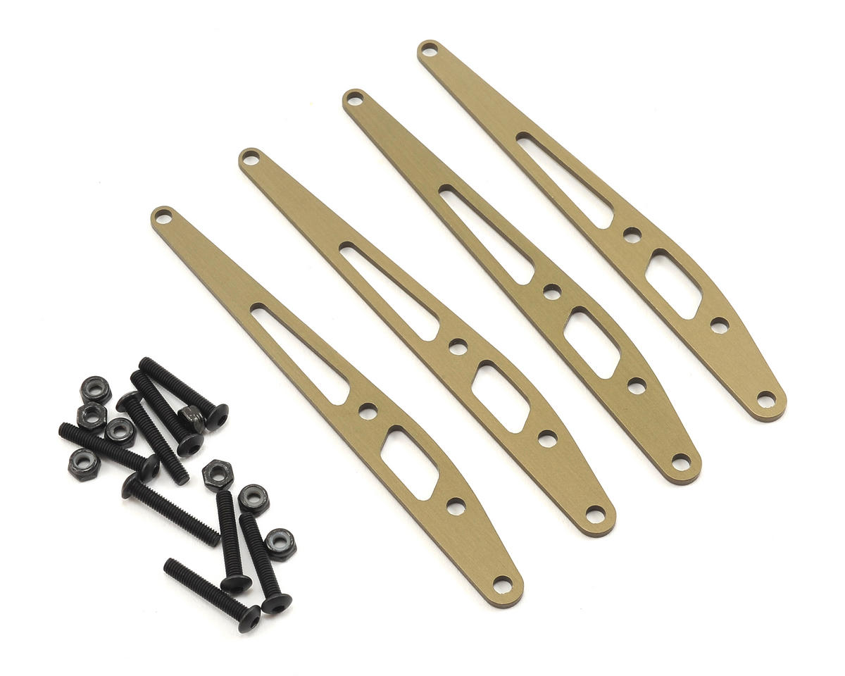 Axial Racing Aluminum Lower Link Plate Set (4)