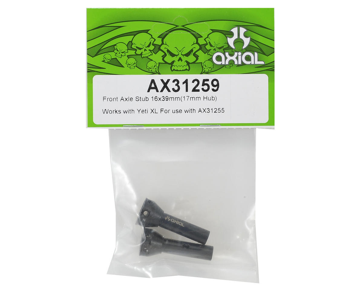 Axial Racing 16x39mm Front Stub Axle (2)