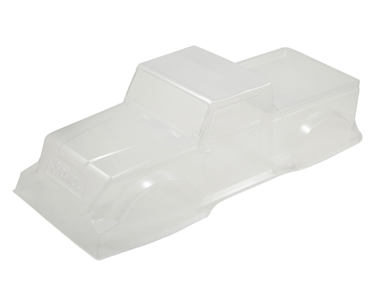 .040 Jeep NuKizer 715 Body (Clear) by Axial