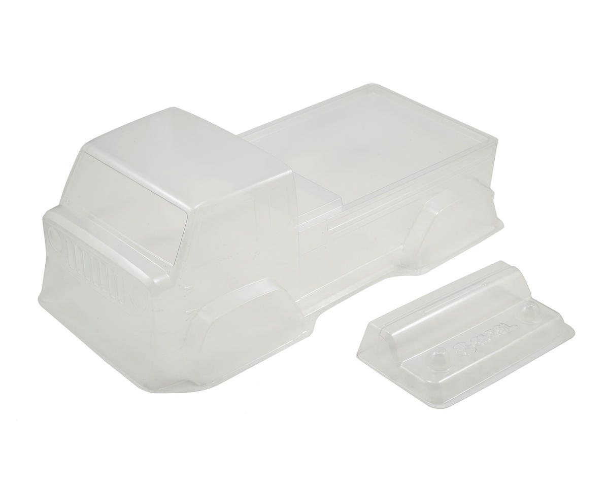 Axial Racing Jeep Mighty FC Body (Clear) (.040)