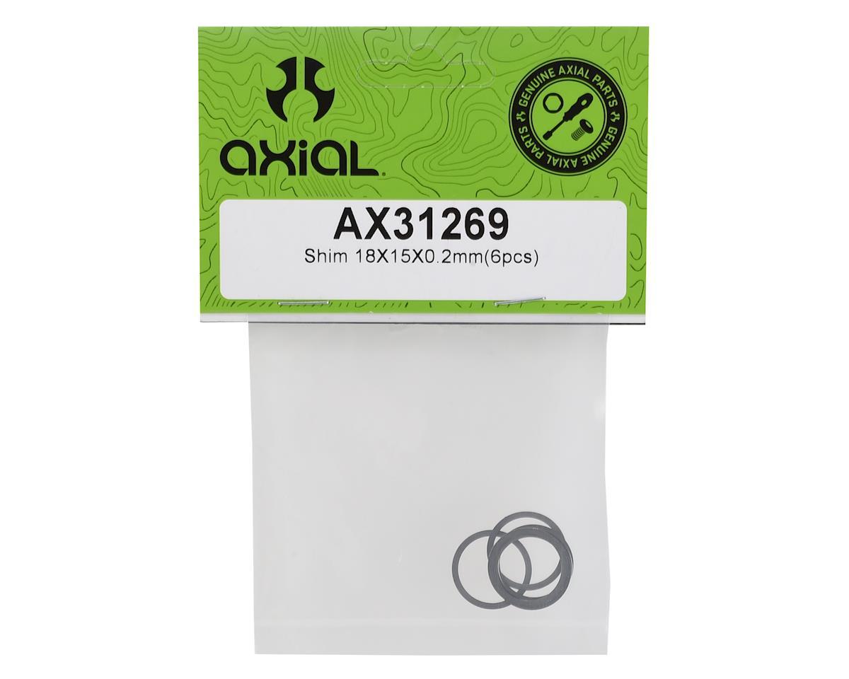 Axial 18x15x0.2mm Shim (6)