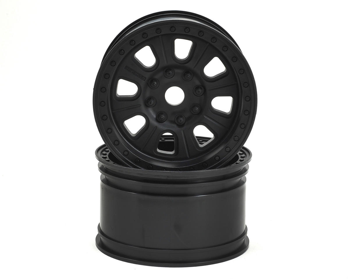 "Axial Racing 3.8 ""Raceline Monster"" Wheels (Black) (2)"