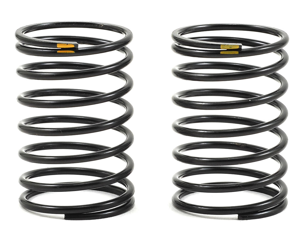 Axial Racing 23x40mm Shock Spring (Yellow - 7.9lb) (2)