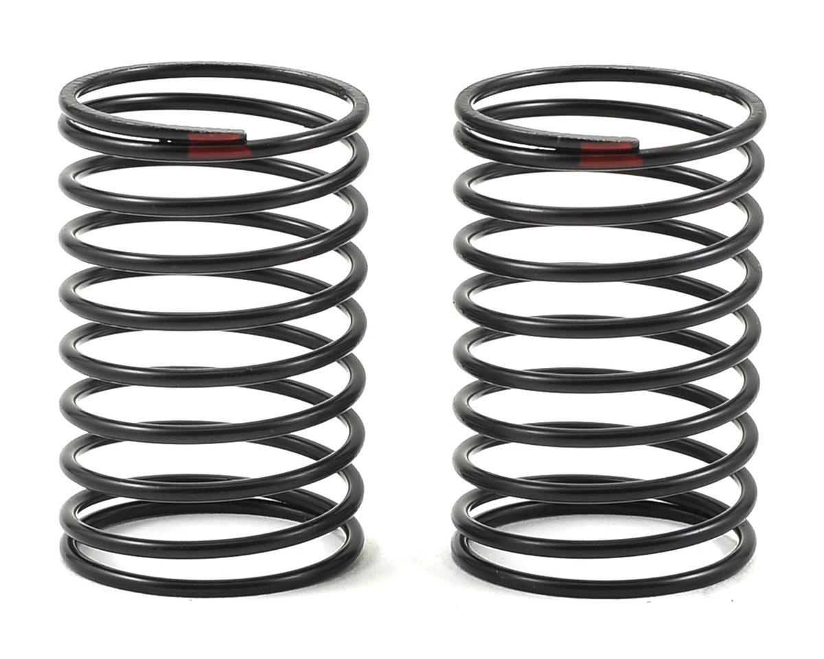 Axial 23x40mm Shock Spring (Red - 3.2lb) (2)