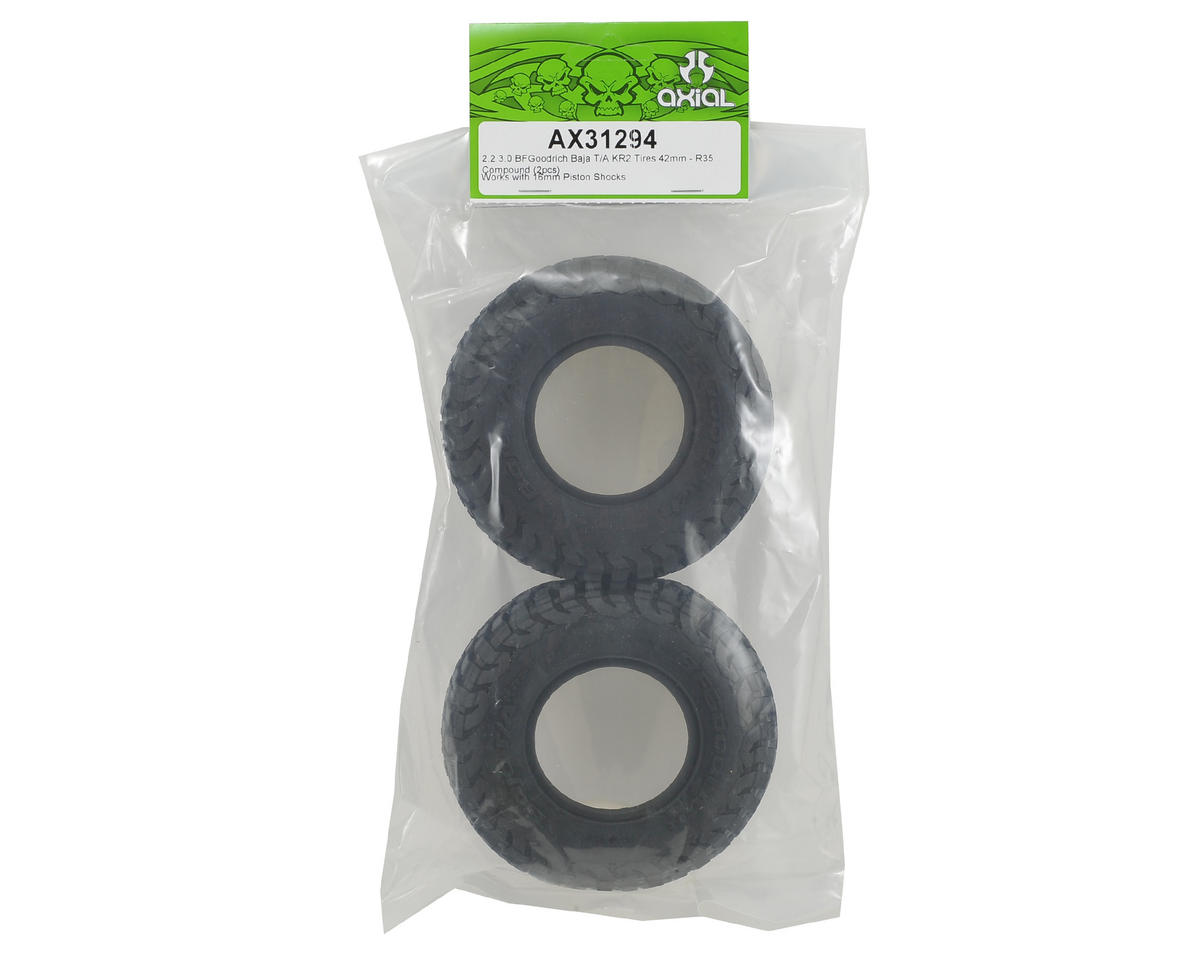 Axial Racing 2.2 3.0 BFGoodrich Baja T/A KR2 Tires (2) (R35 Compound)