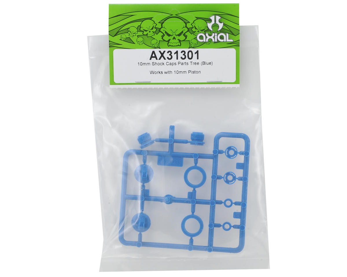 Axial Racing SMT10 10mm Shock Cap Parts Tree (Blue)