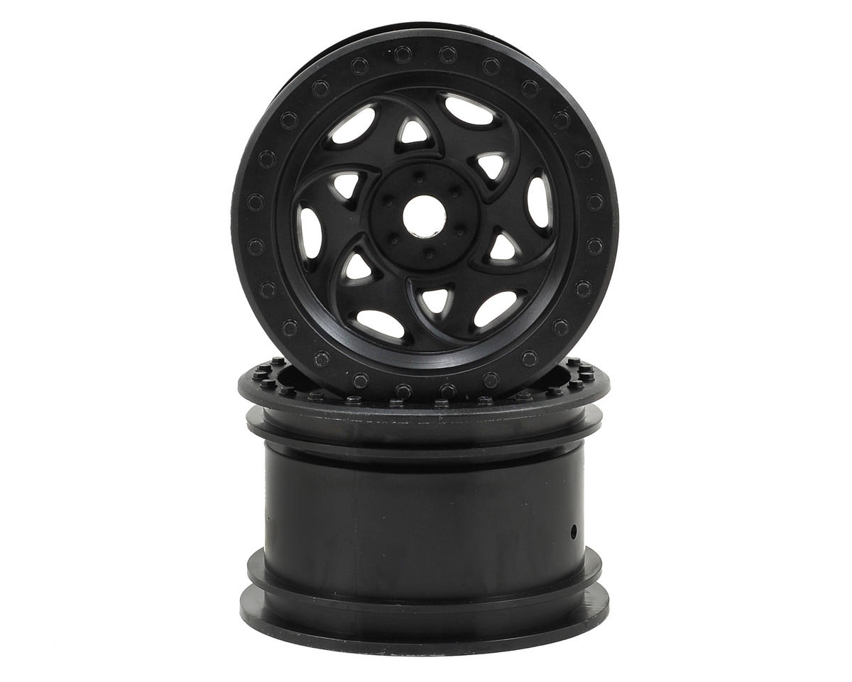 "Axial Racing Walker Evans 2.2"" Rock Crawler Wheels (2) (Black)"