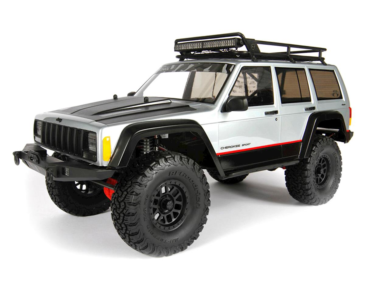 "Axial Complete .040"" 2000 Jeep Cherokee Body (Clear)"