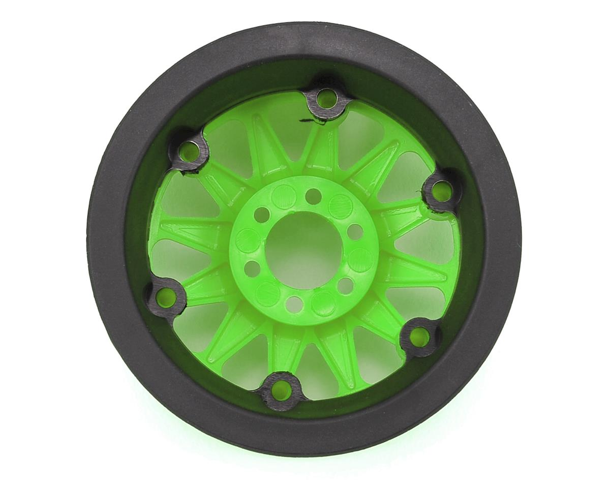 "Axial Racing Method IFD 2.2"" Beadlock Rock Crawler Wheels (2) (Green)"
