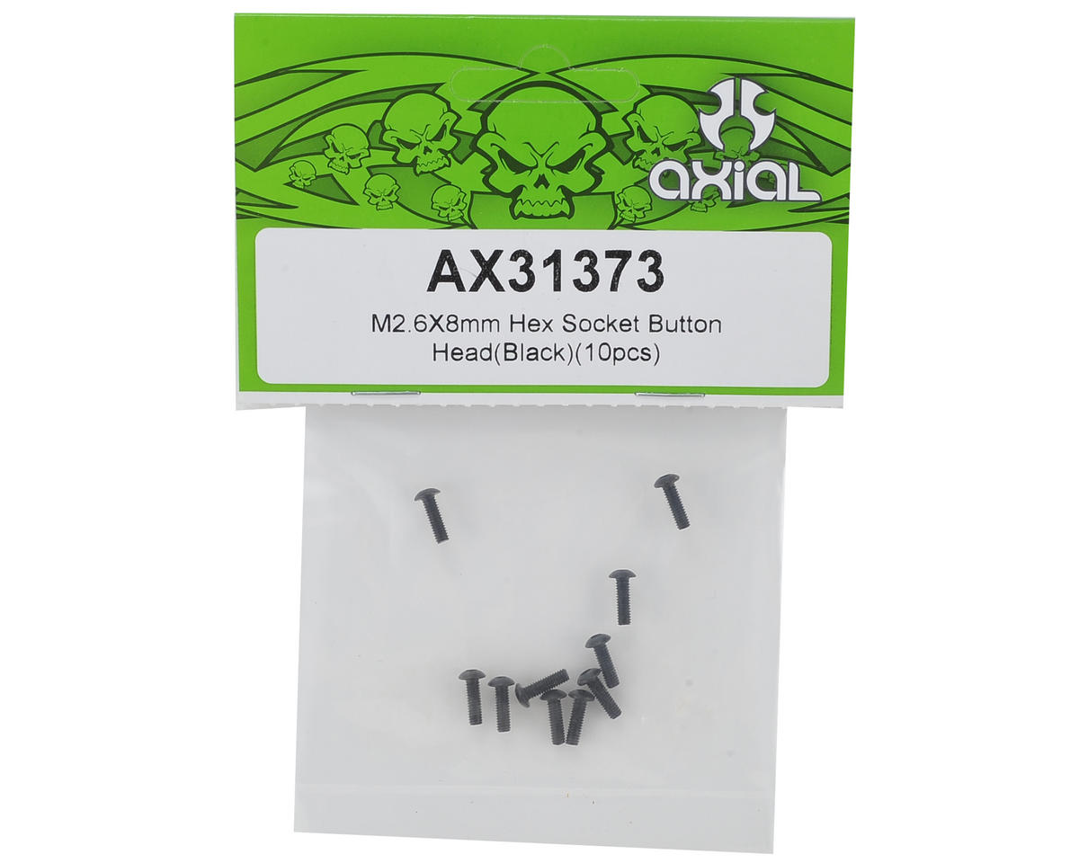 Axial 2.6x8mm Button Head Screw (10)