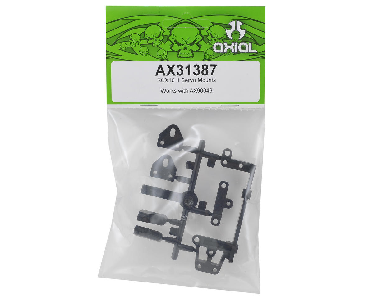 Axial SCX10 II Servo Mounts