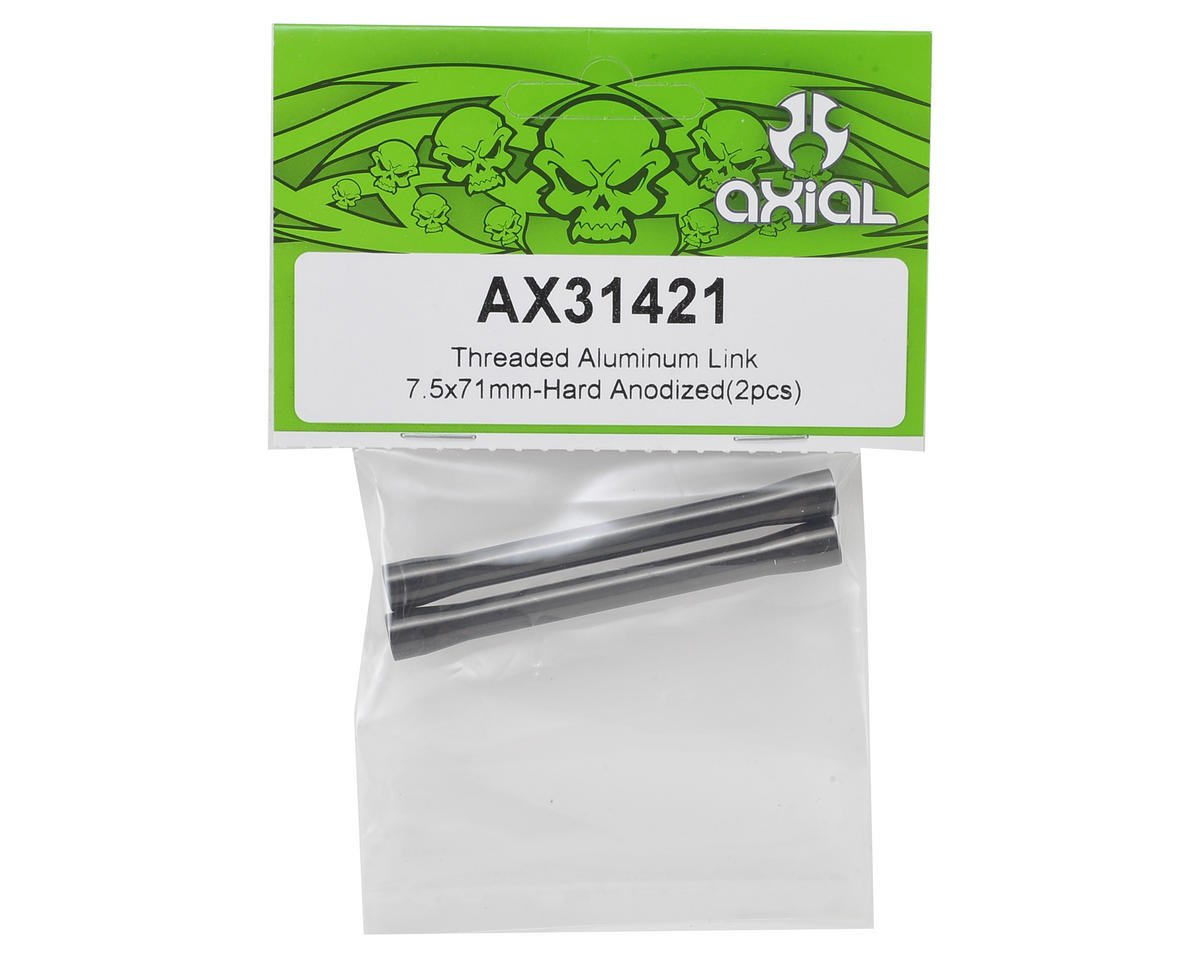Axial Racing SCX10 II 7.5x71mm Threaded Aluminum Link (Hard Anodized) (2)