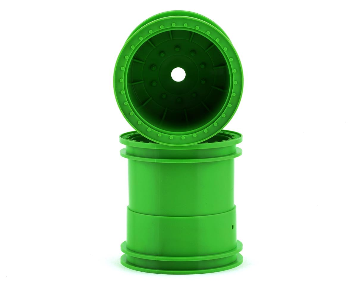 """Axial 2.2"""" 63mm Monster Truck Wheels (Green) (2) 
