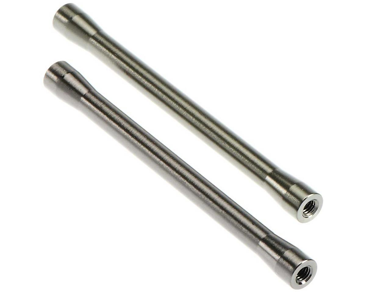 Axial Threaded Aluminum Link 7.5x85.5mm Grey (2) Opt