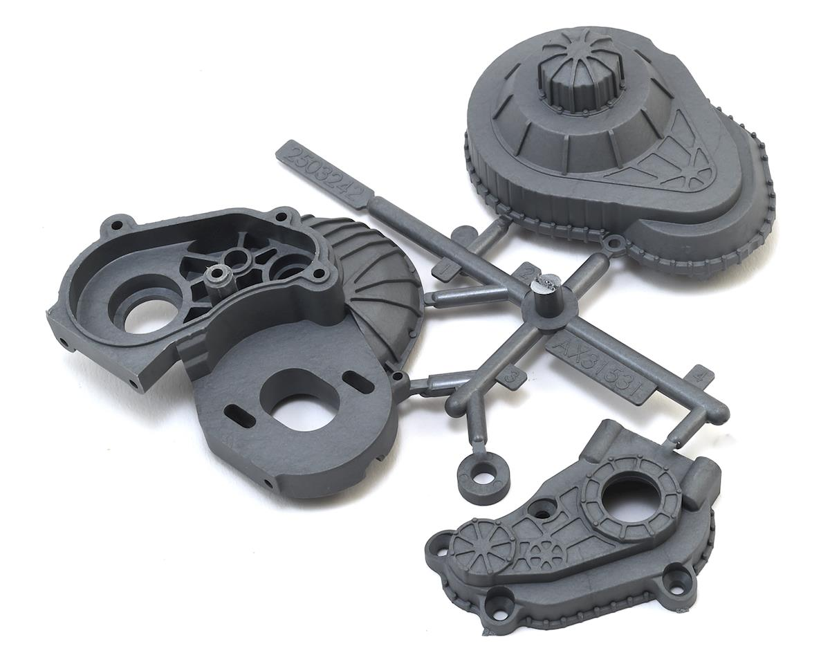 Axial LCX SCX10 II Transmission Housing Case (Silver)
