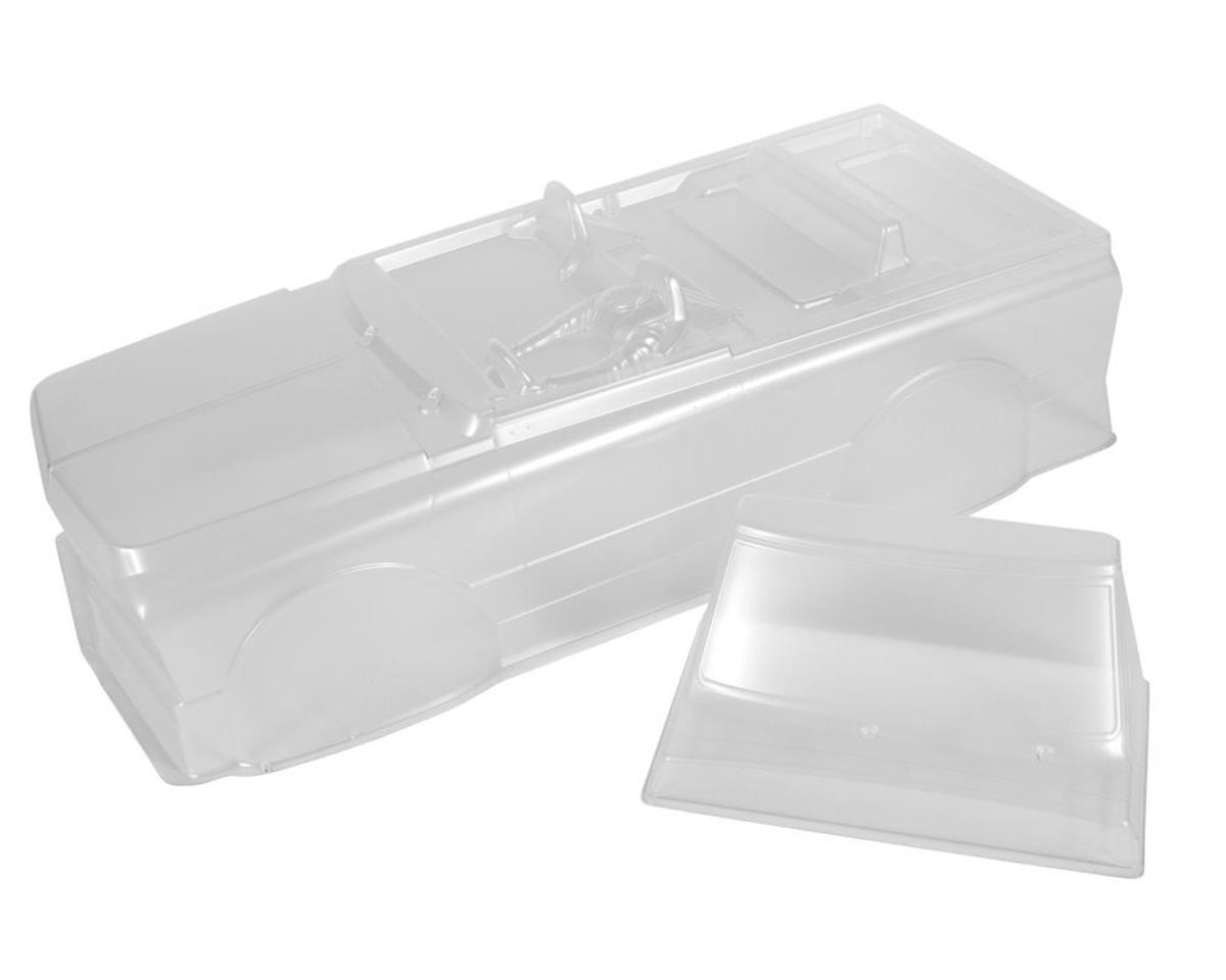 "Axial 1969 Chevy K5 Blazer 1/10 Crawler Truck Body (Clear) (12""/305mm)"