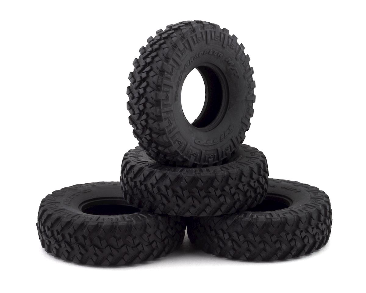 Axial SCX24 1.0 Nitto Trail Grappler M/T Tires (4)