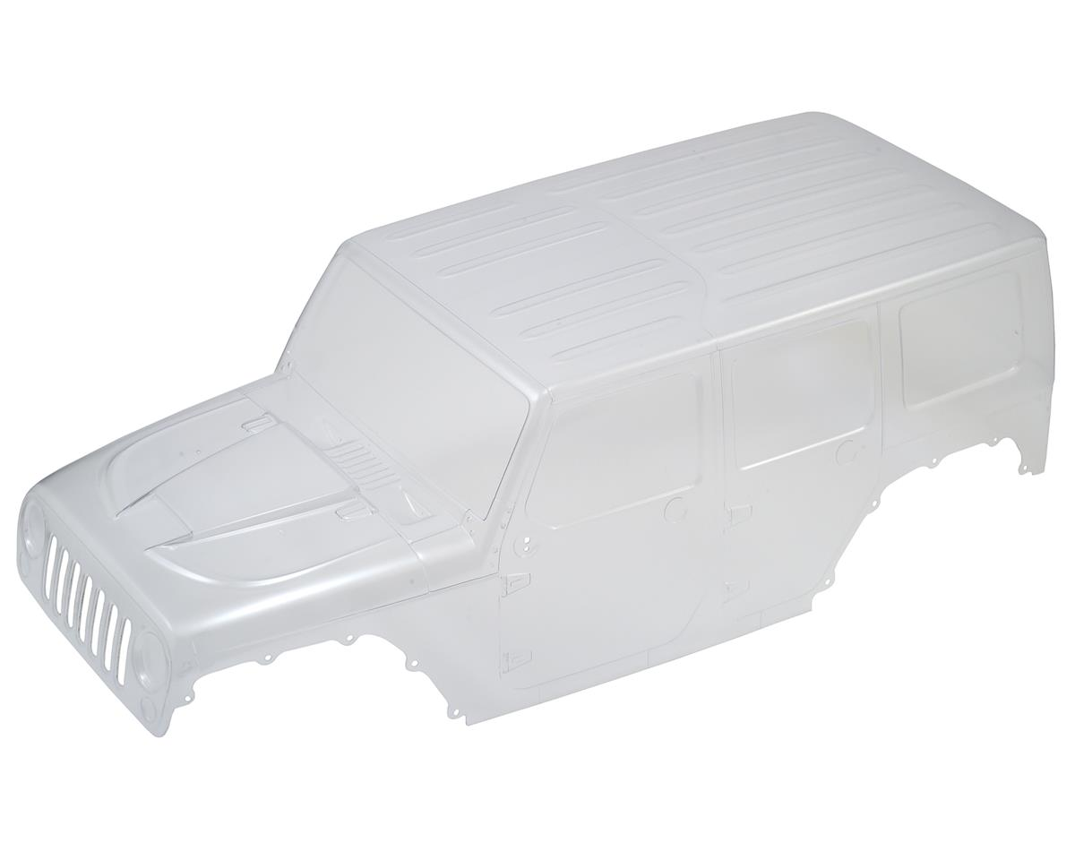 Axial 2017 Jeep Wrangler Rubicon Hardtop Body (Clear)