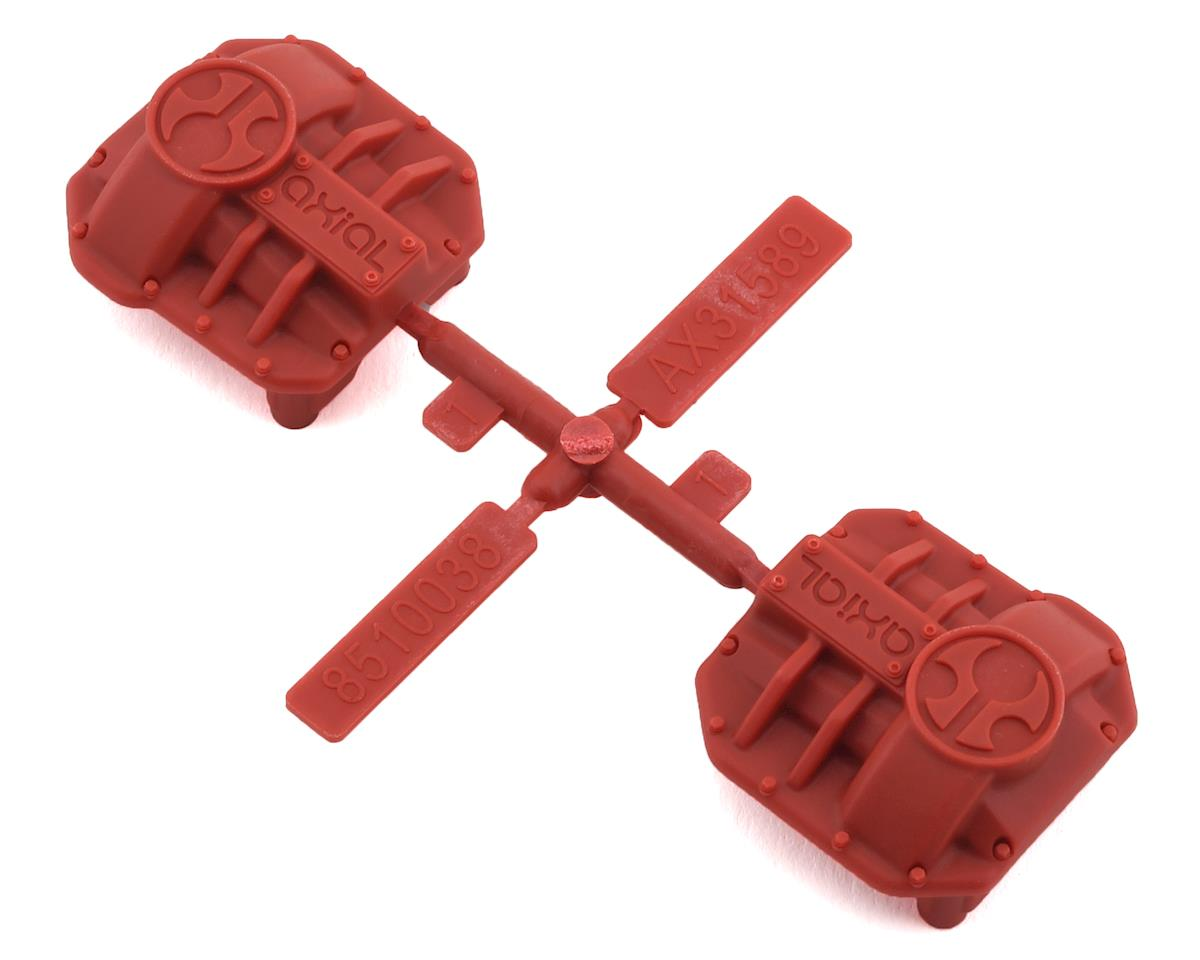 Axial SCX10 II AR44 Differential Cover (Red) (2)
