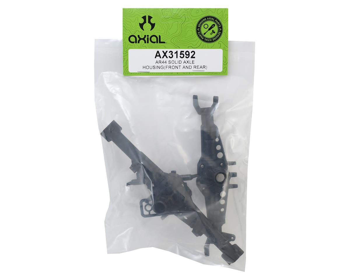 Axial AR44 One-Piece Solid Axle Housing Set (Front & Rear)