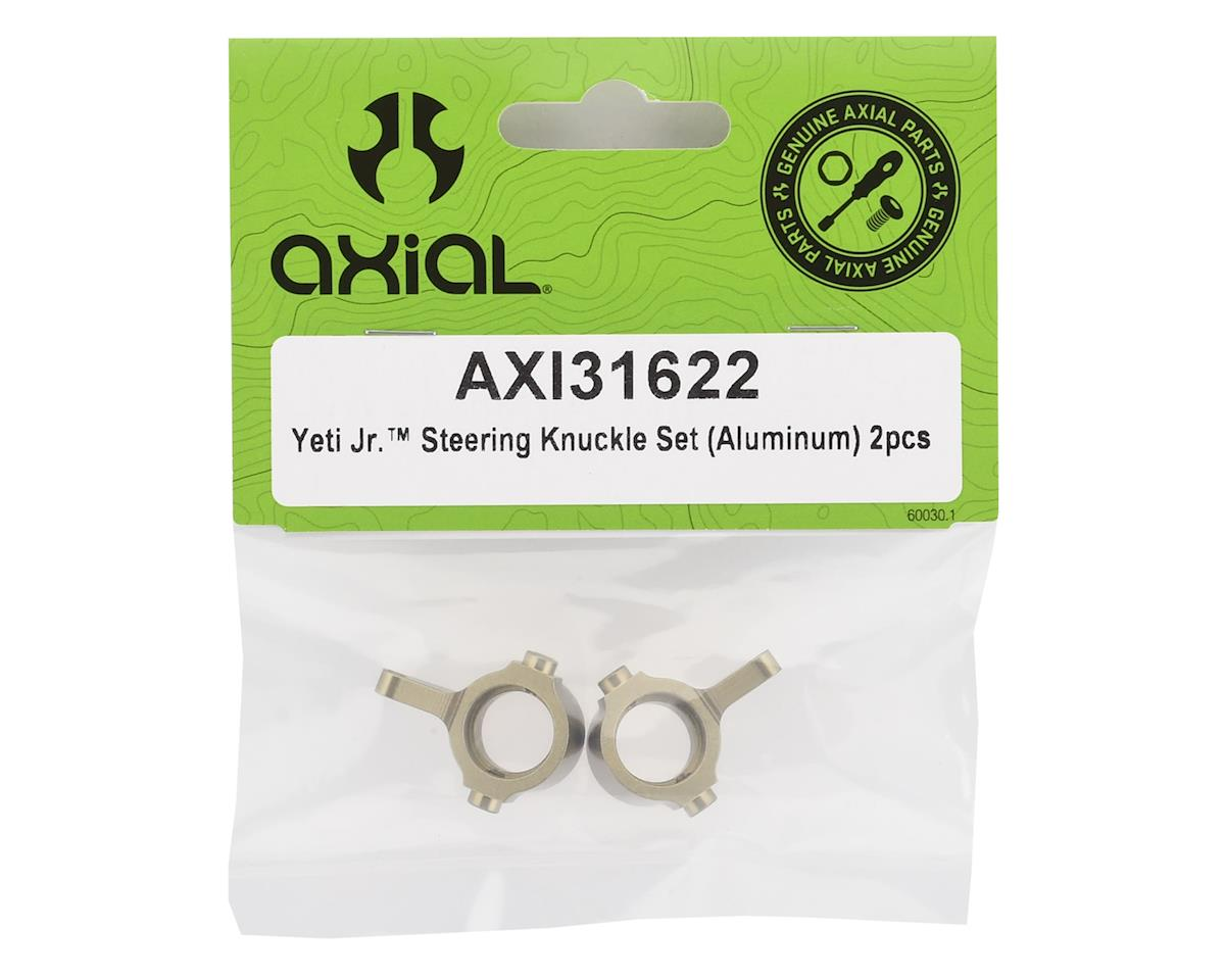 Axial 1/18 Yeti Jr Aluminum Steering Knuckle Set (Hard Anodized) (2)