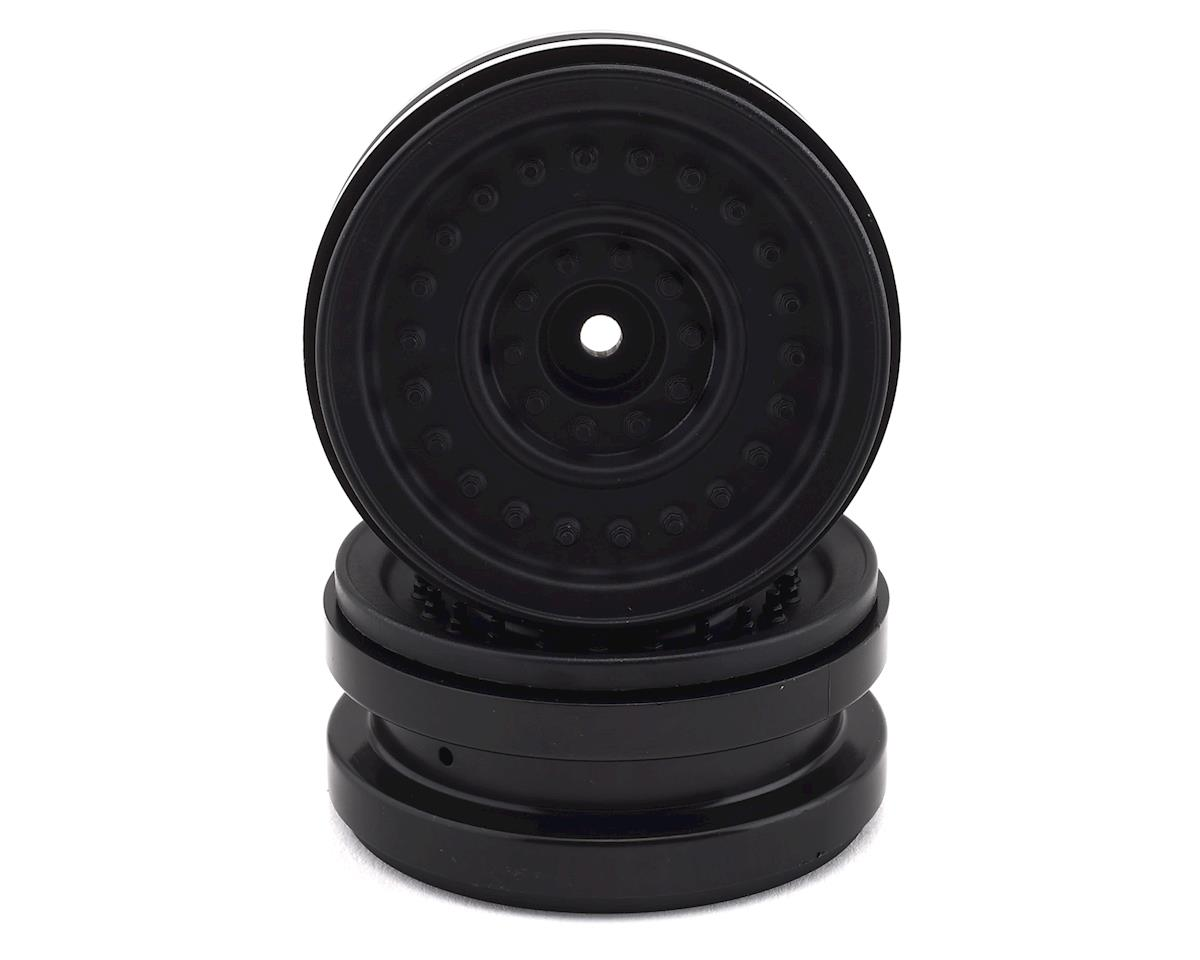 Axial MW19 1.9 Plastic Beadlock Wheels (Black) (2)