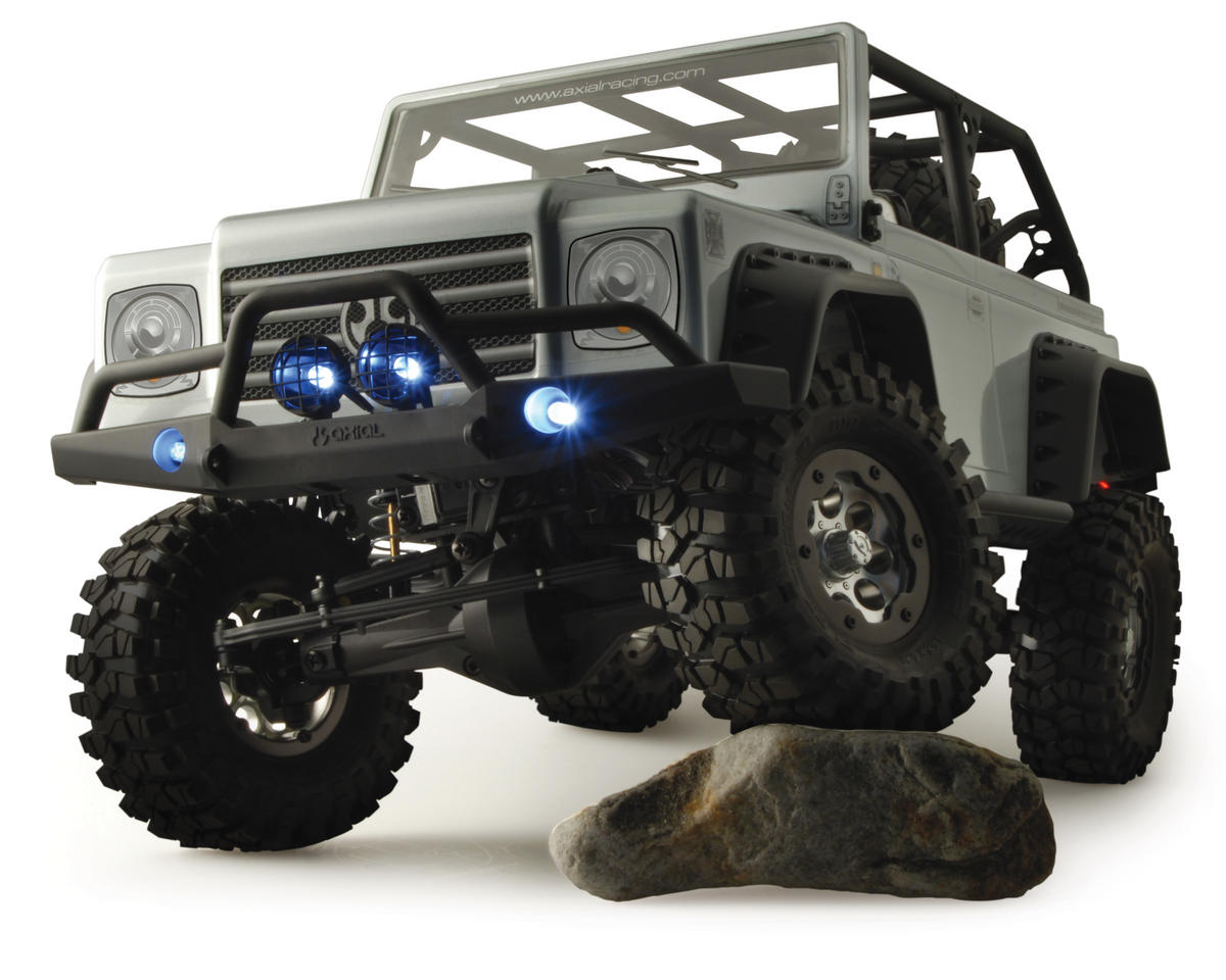 ".040"" Dingo Truck Body (Clear) by Axial"