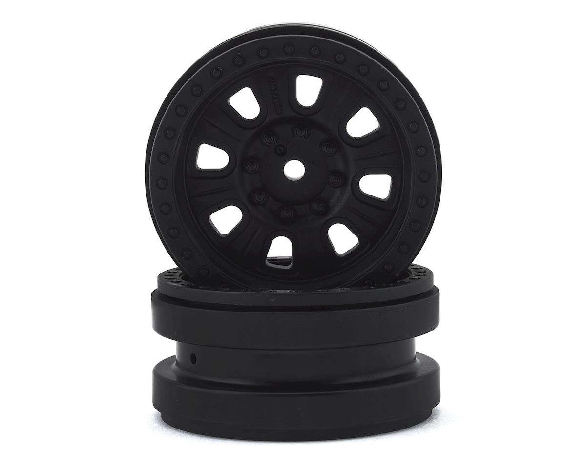 Axial 1.9 Raceline Monster Beadlock Wheels (2) (Black)