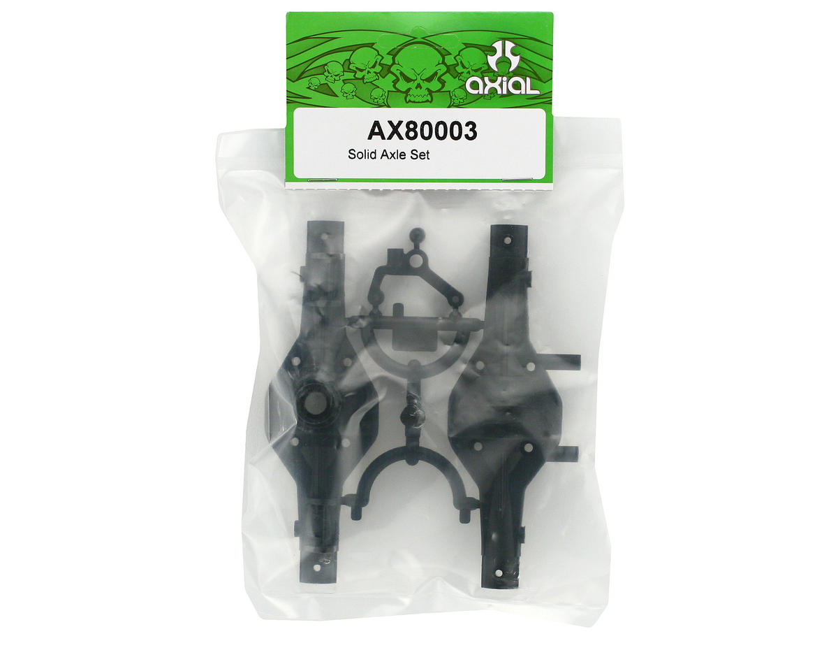 Axial Solid Axle Set: AX10 Scorpion