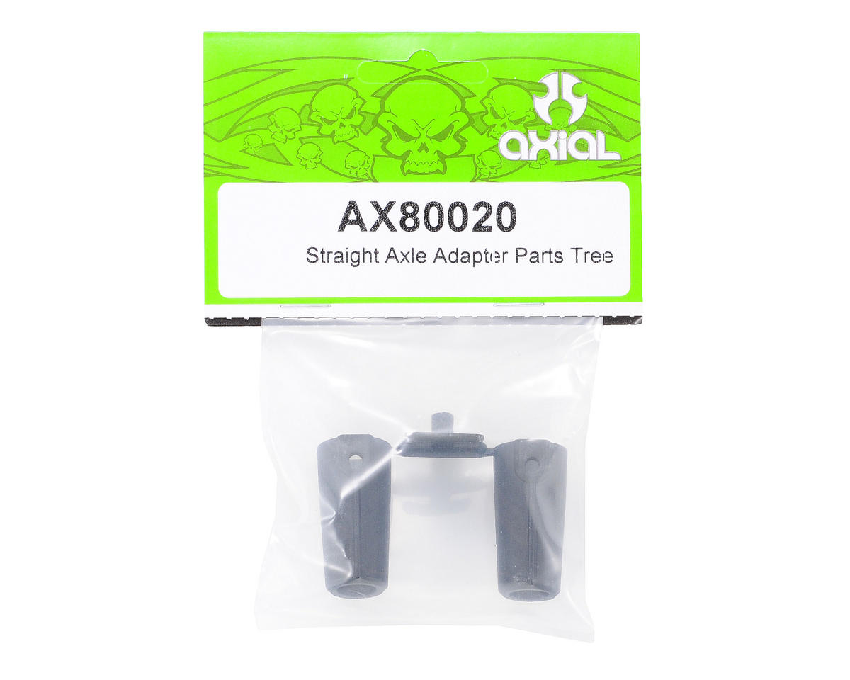 Axial Plastic Straight Axle Adapter