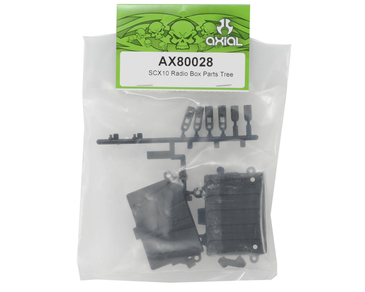 Axial Radio Box Parts Tree