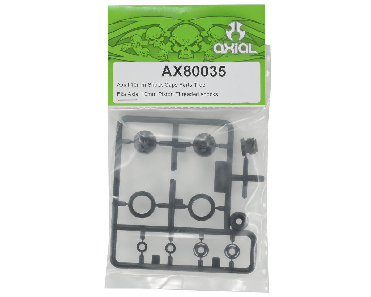 Axial 10mm Shock Cap Parts Tree