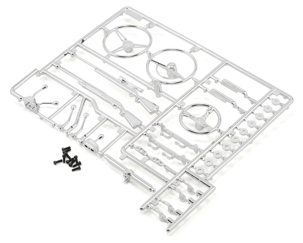 Axial Racing Interior Details Parts Tree (Chrome)