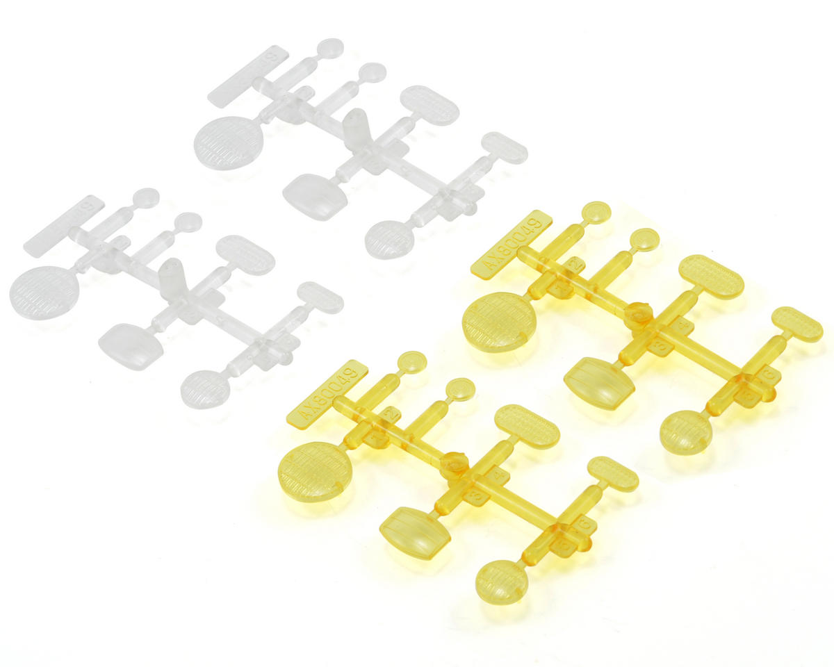 Axial LED Lens Set (Clear & Yellow)