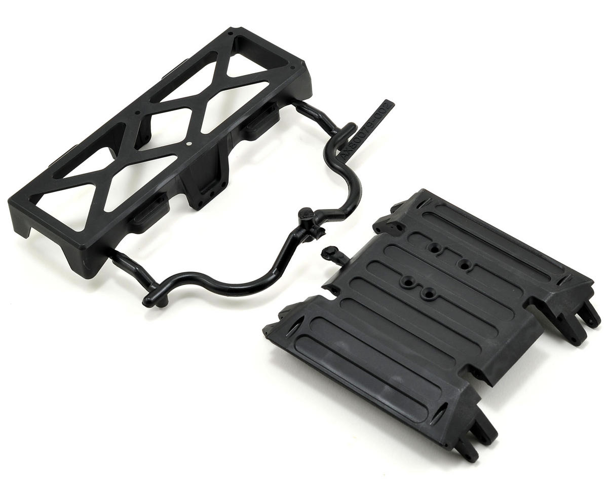 Axial Wraith Tube Frame Skid Plate/Battery Tray Set