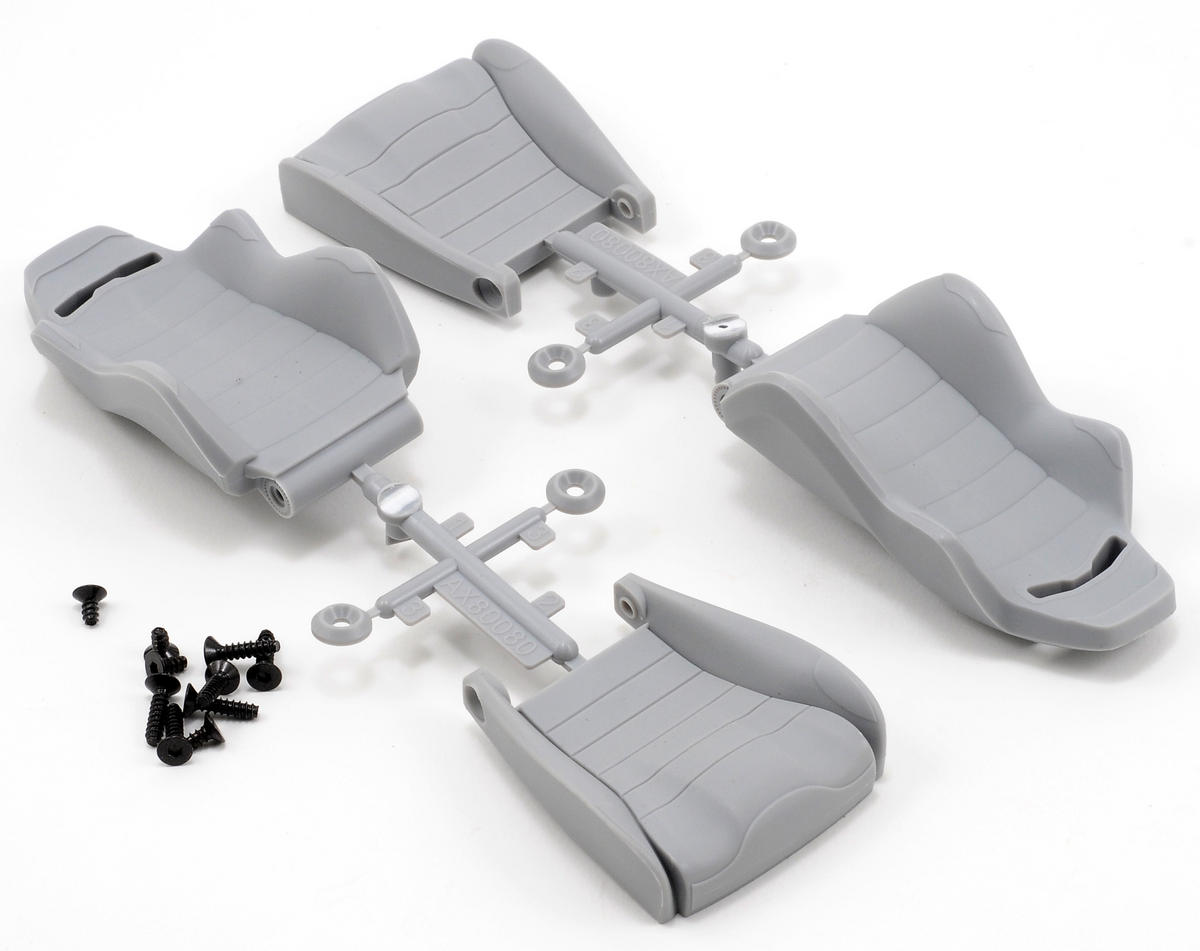 Axial Racing Corbeau LG1 Seat Set (Grey) (2)