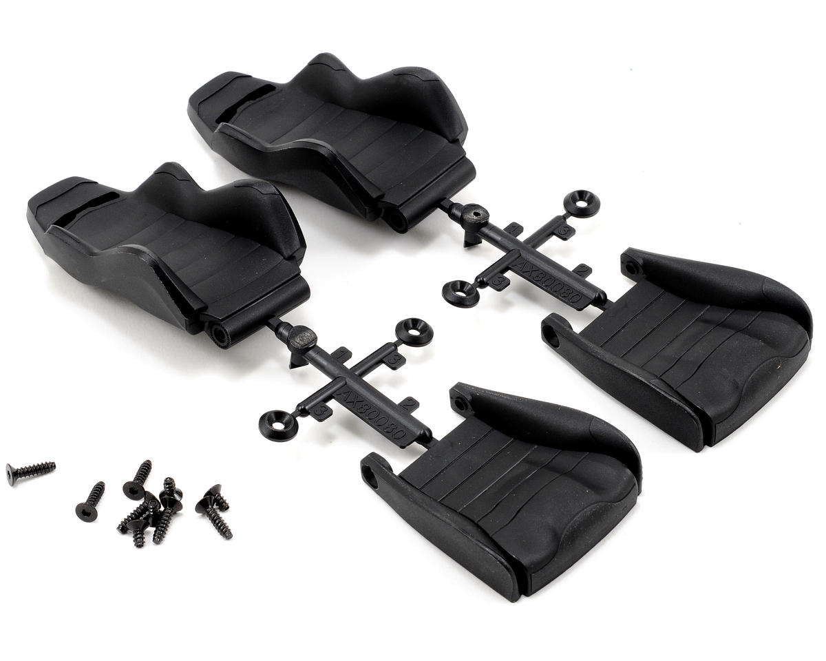Axial Racing Corbeau LG1 Seat Set (Black) (2)