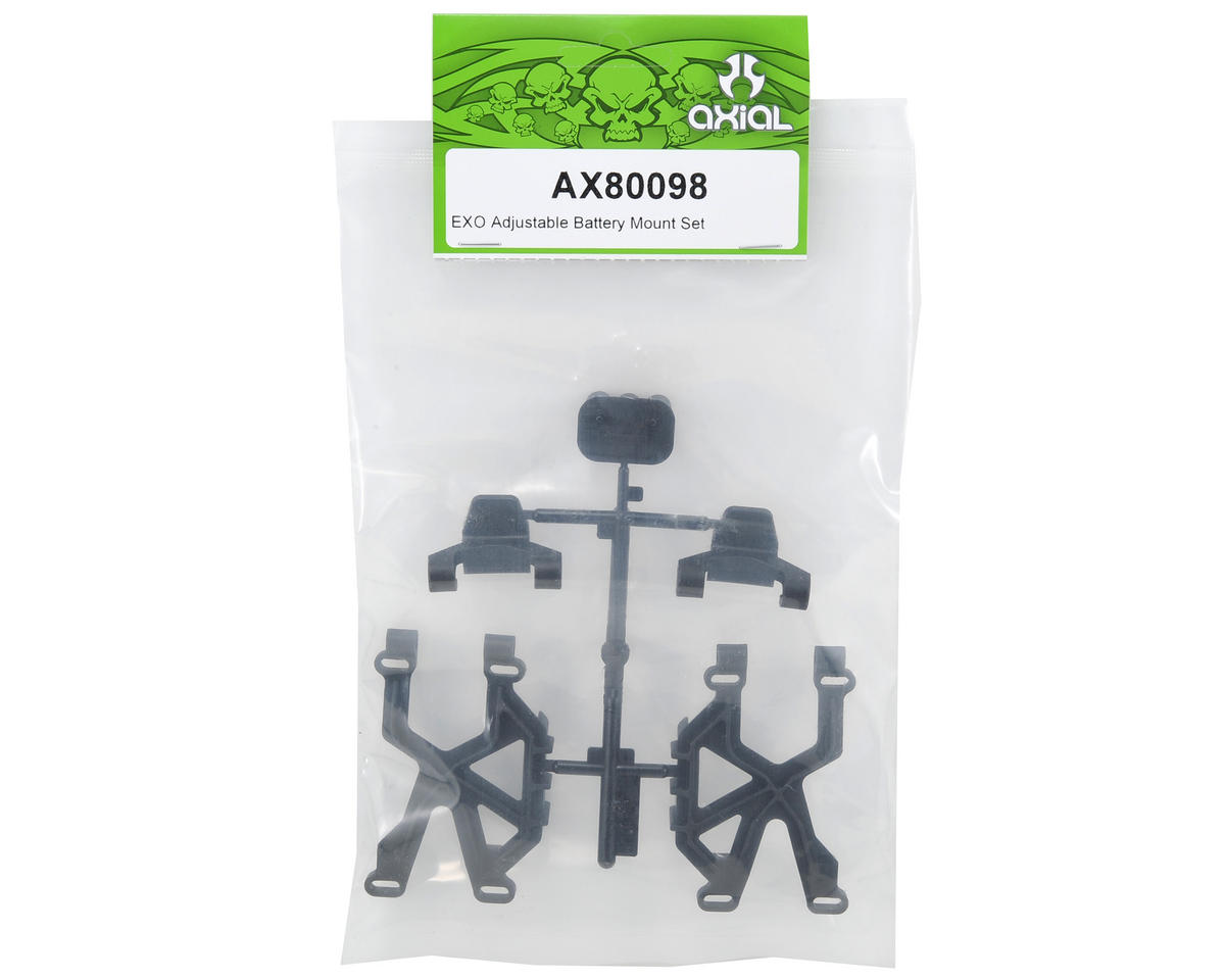 Axial Racing Adjustable Battery Mount Set