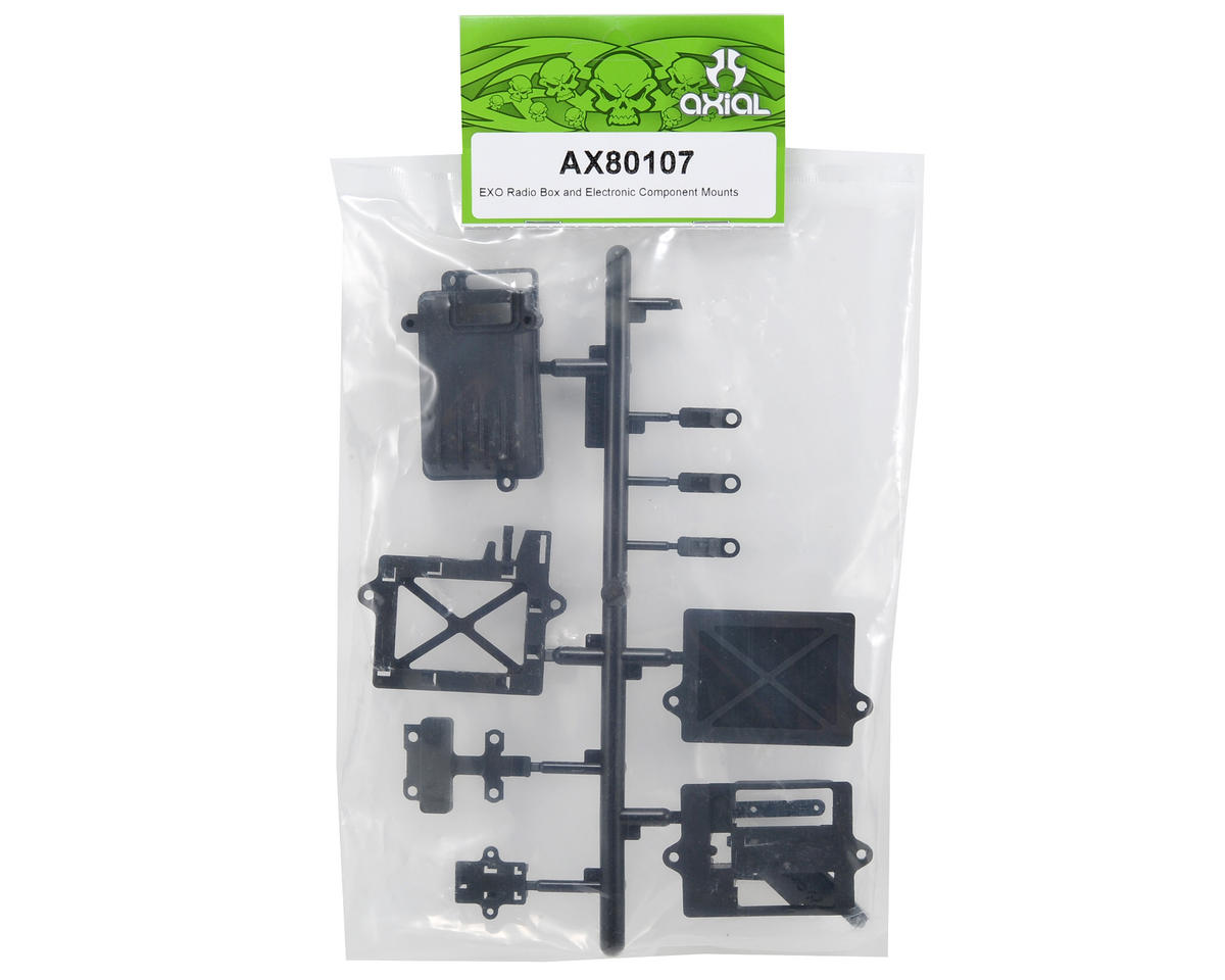 Axial Racing Radio Box & Electronic Component Mount Set