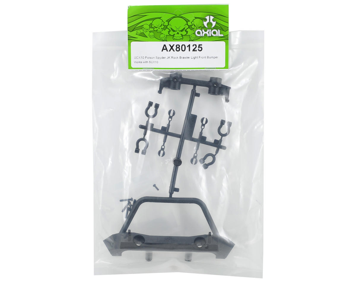 Axial SCX10 Poison Spyder JK Brawler Lite Front Bumper