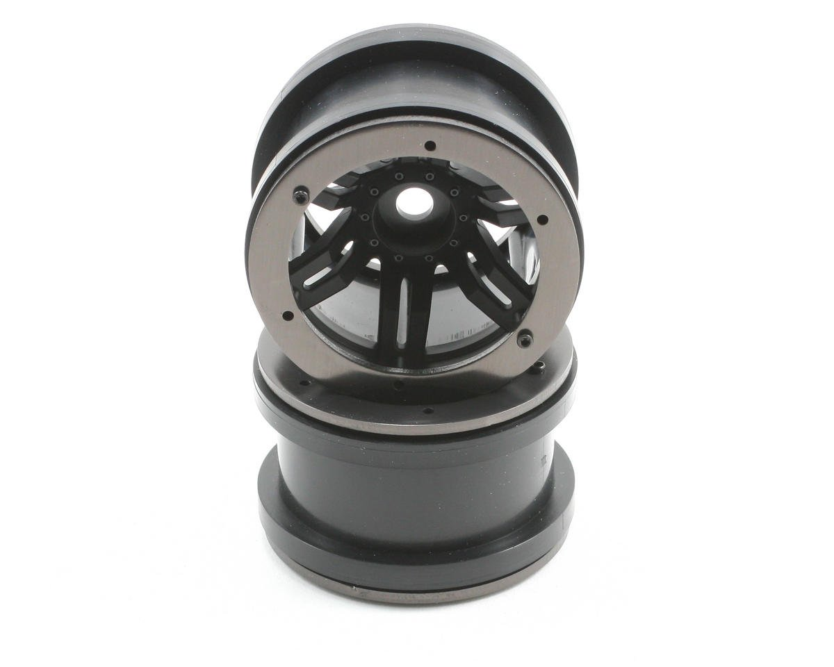 "Axial Rockster Beadlock 2.2"" Rock Cralwer Wheels (2) (Black)"