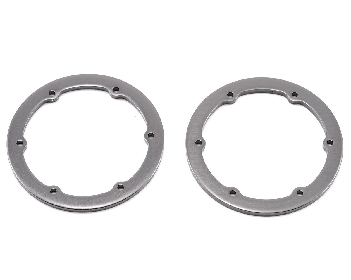 "Axial Racing 1.9"" Beadlock Ring (2) (Grey)"