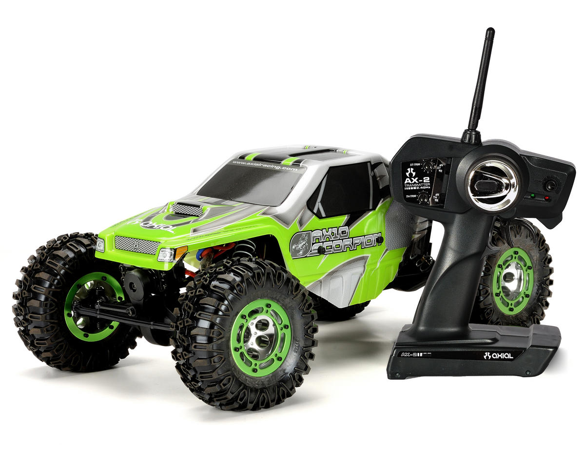 """Axial AX10 """"Scorpion"""" 1/10 Scale Rock Crawler w/2.4GHz & Pro Line Tires/Inserts (Ready-To"""