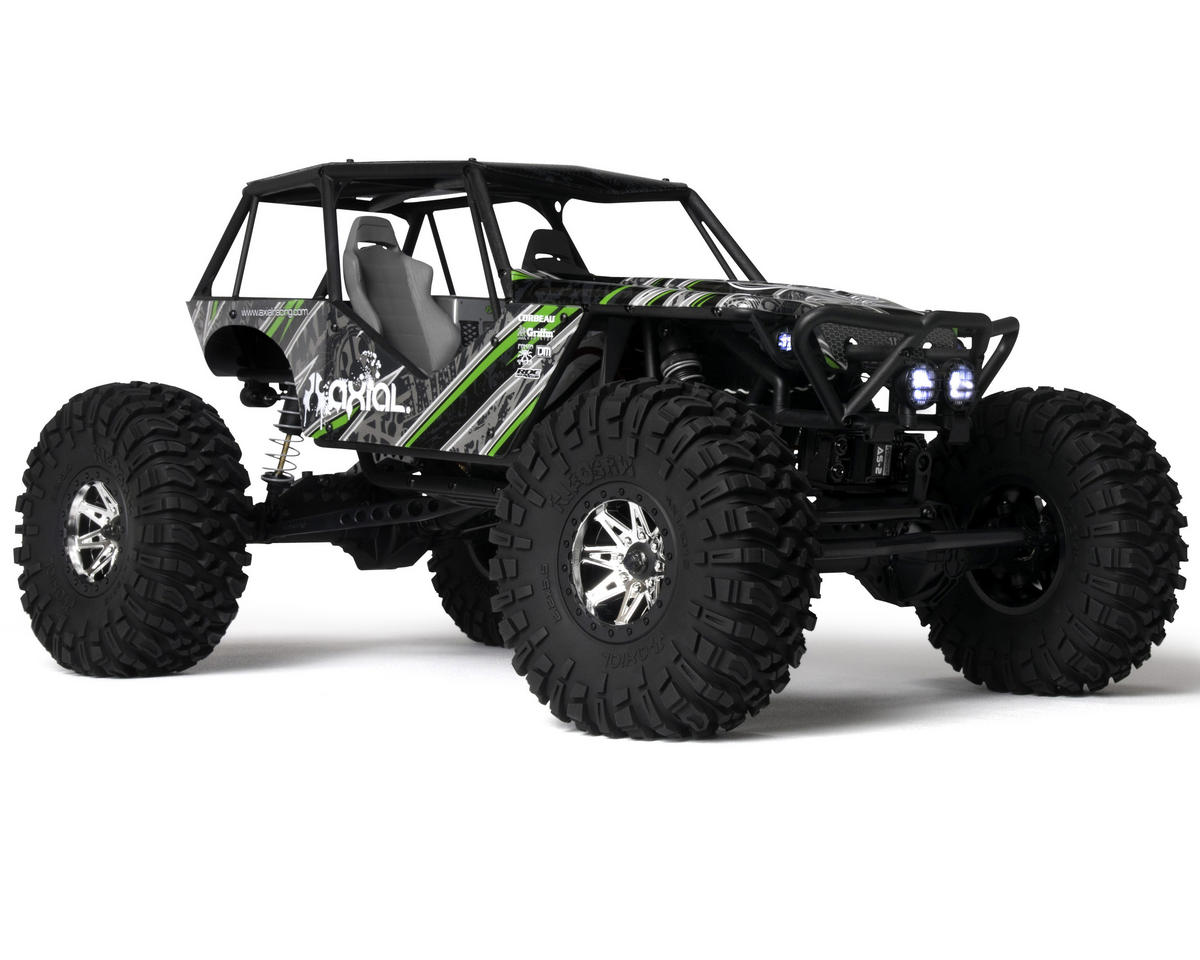 """Wraith"" 1/10th 4WD Ready-to-Run Electric Rock Racer by Axial Racing"