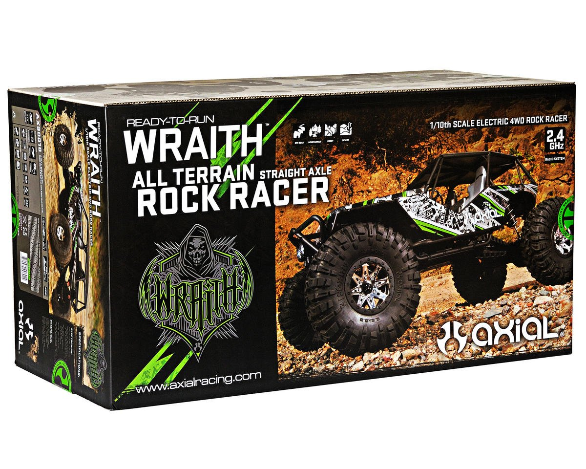 "Axial Racing ""Wraith"" 1/10th 4WD Ready-to-Run Electric Rock Racer"